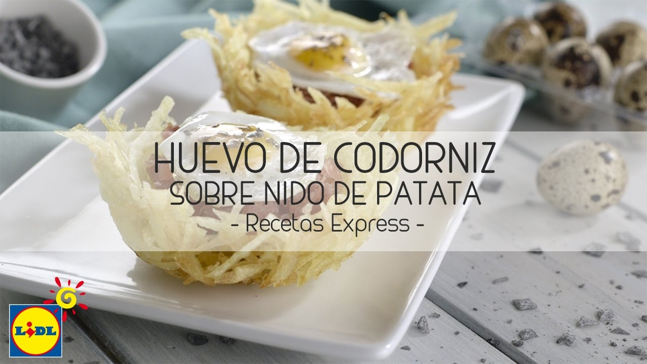 Huevo De Codorniz Sobre Nido De Patata Recetas Express
