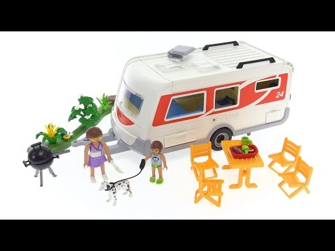 Playmobil Travel Trailer