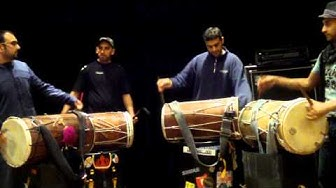 Dhol JT SAUND - late night practice!