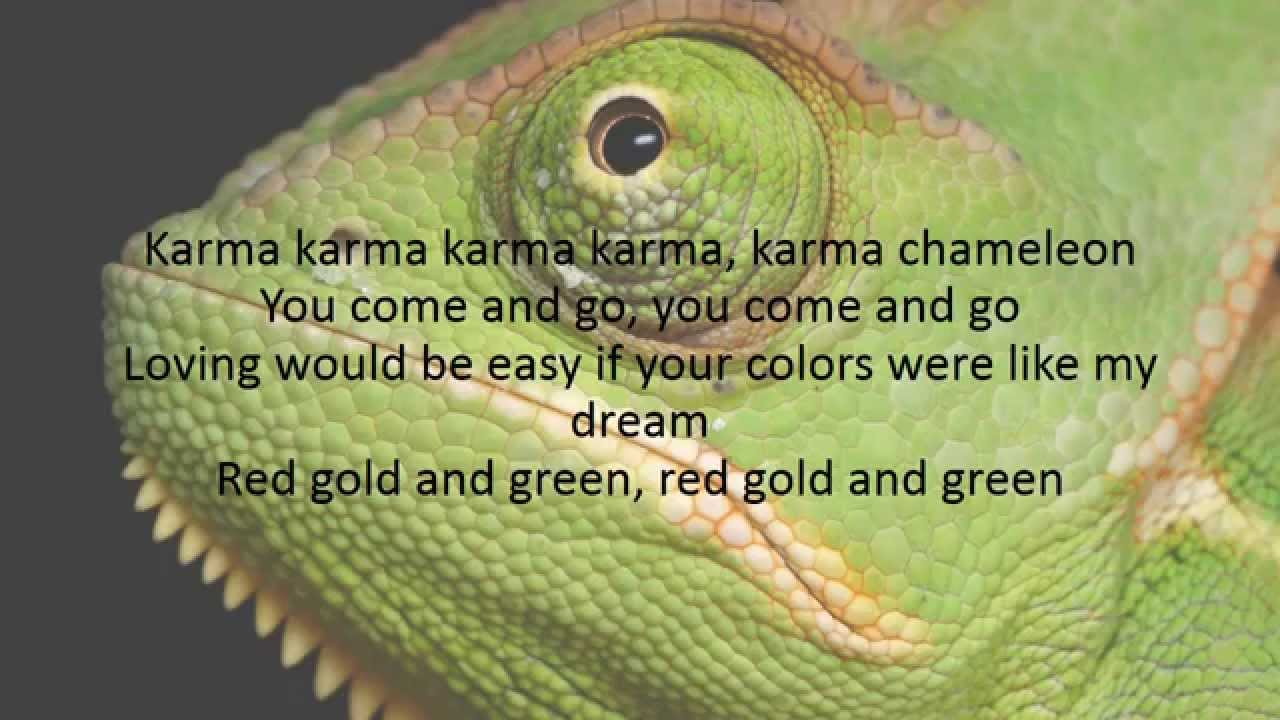 Boy George - Karma Chameleon Lyrics | MetroLyrics