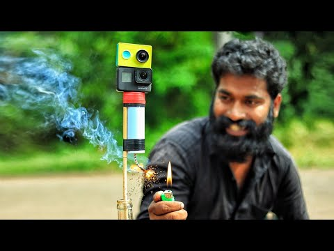 Download SUGAR ROCKET MAKING AND LAUNCHING WITH CAMERA | M4 TECH |