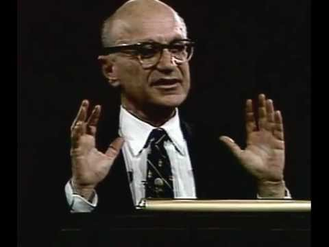 Milton Friedman - The role of government in a free society