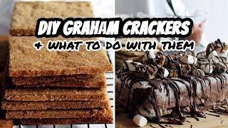 DIY VEGAN GRAHAM CRACKERS What To Do With Them WW Or GLUTEN FREE RECIPES