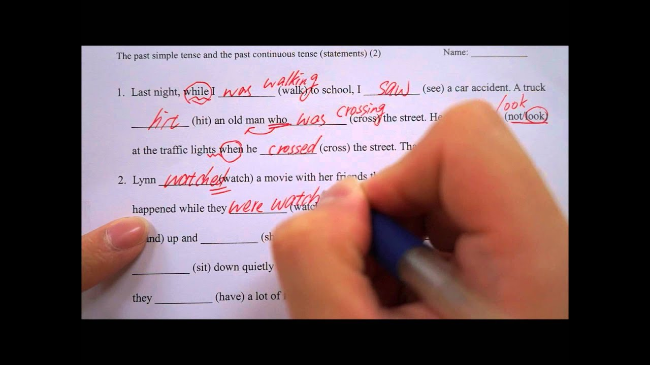 simple past tense beginner exercises pdf