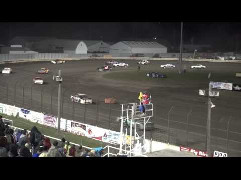 Shiverfest Stock Car feature Lee County Speedway 10/25/14
