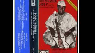 Chief Commander Ebenezer Obey ~ Board Members ~ side two (part a)