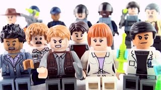 Lego Jurassic World MiniFigures - Jurassic World Characters Collection - Claire Owen Hoskins