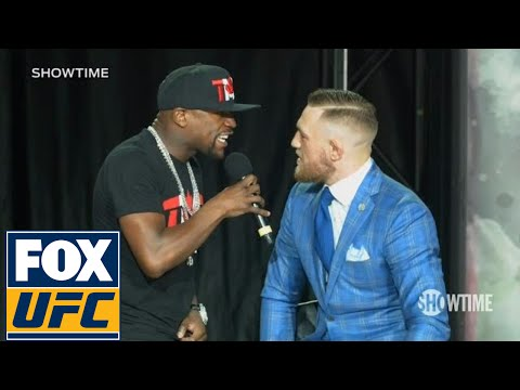 Thumbnail: Floyd Mayweather fires back at Conor McGregor 'The fans can't fight for you' | TOR | UFC ON FOX