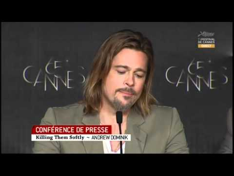 Killing Them Softly Full Press Conference  Cannes Film Festival 2012 Brad Pitt Ray Liotta