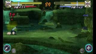 Naruto Shippuuden Narutimate Accel 3 SU Sasuke VS SU Naruto