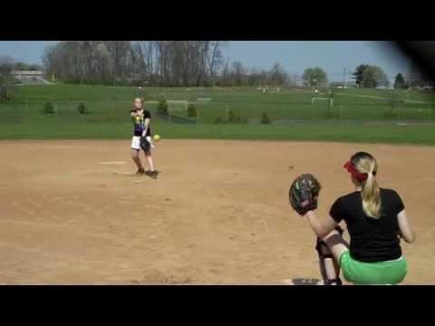 Softball pitching grips