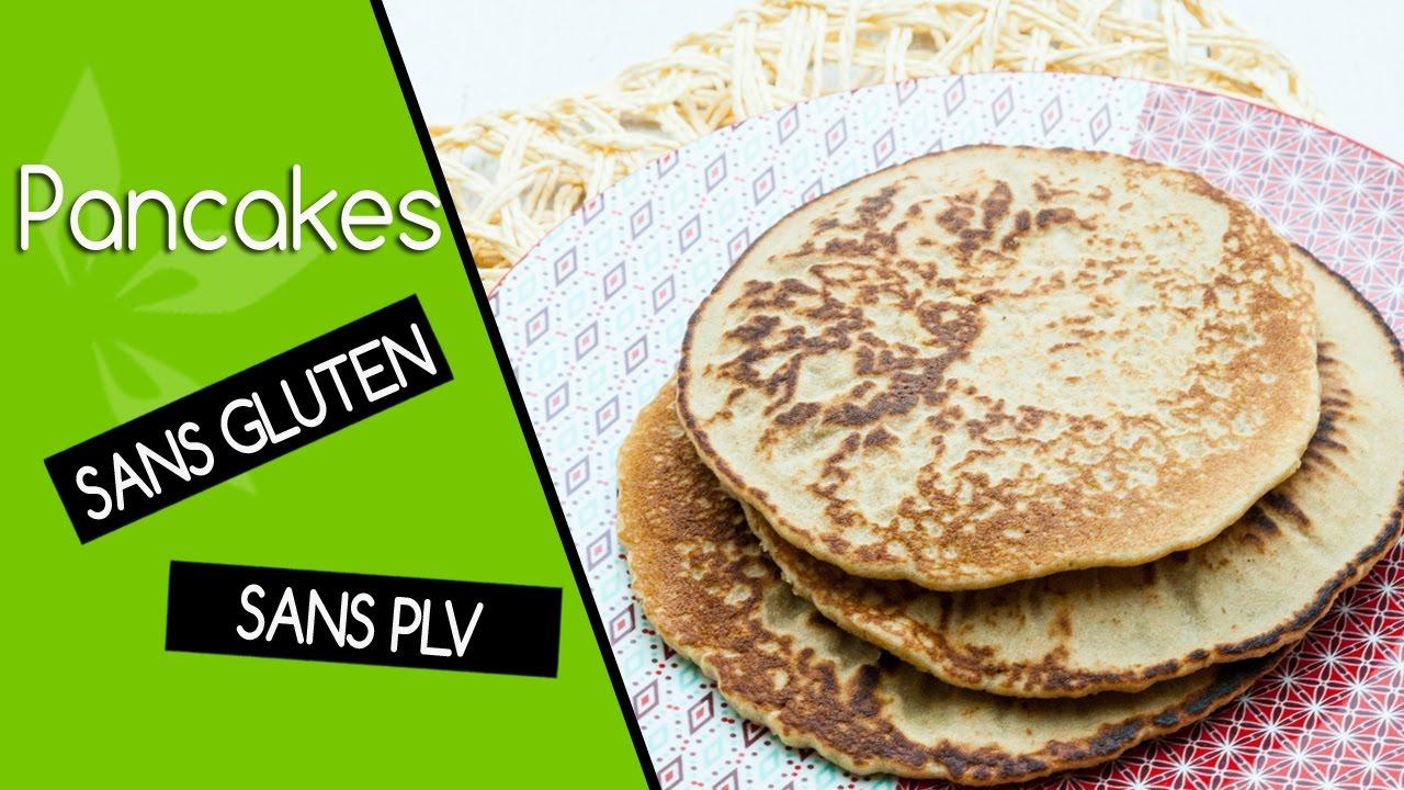 pancakes sans gluten sans plv sans lait youtube. Black Bedroom Furniture Sets. Home Design Ideas