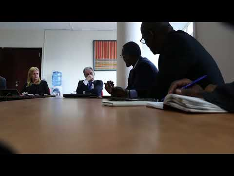 AMCOW's Exec Secretary Visits EU Delegation to African Union
