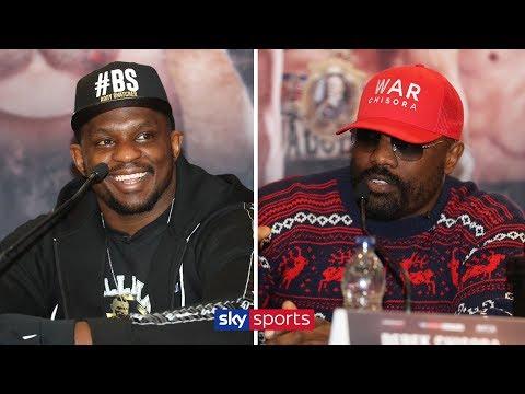 PRESS CONFERENCE! Dillian Whyte vs Derek Chisora 🎤