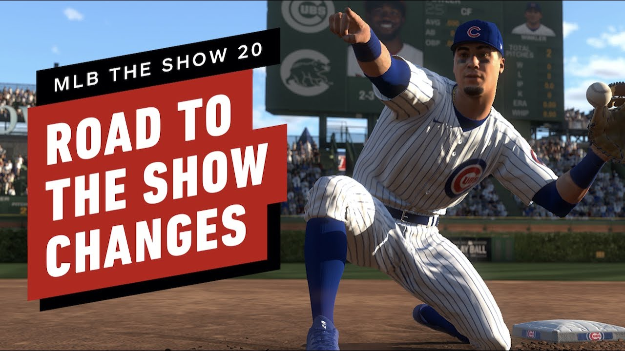 MLB The Show 20: Premier aperçu de Road to the Show + vidéo