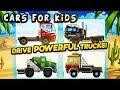 Monster Truck Crushing Cars for Kids Video & Desert Rally Trucks Offroad Racing Video