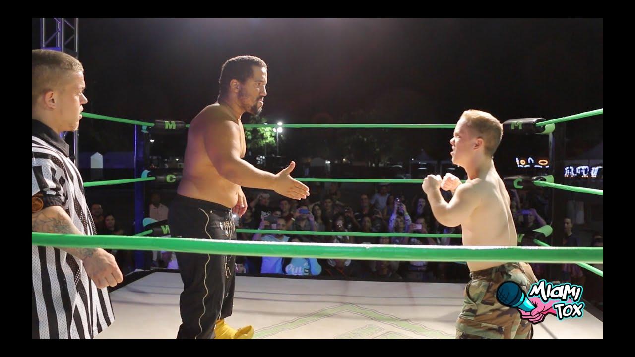 Midget leprechaun wrestler