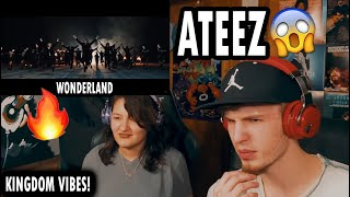 FIRST TIME LISTENING TO ATEEZ - WONDERLAND (COUPLE REACTION | LYRIC INTERPRETATION!)
