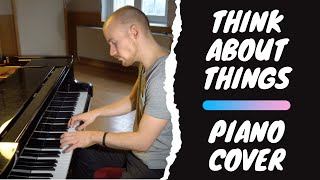 Daði Freyr - Think About Things (Piano Cover)