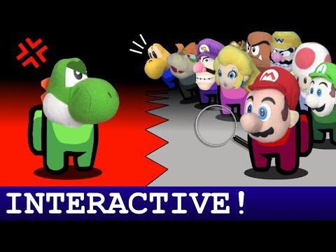 Among Us Mario: Yoshi's Betrayal [INTERACTIVE!]