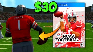 This is the NEW College Football Game. Should You Buy for $30?