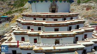 Stunning view of Tibet's Gyangze