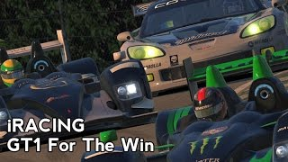 iRacing : GT1 For The Win (C6R GT1 P/GT @ Road Atlanta)