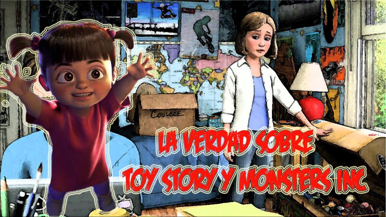La Inquietante Teoría De La Mama De Andy: ¿Boo Es La Mamá De Andy? (La Teoría De Toy Story Y Mons