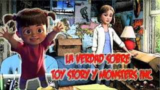 ¿Boo es la Mamá de Andy? (La teoría de Toy Story y Monsters inc.)