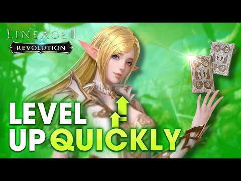 [Lineage2 Revolution] Essential Guide : Tip to level up Quickly