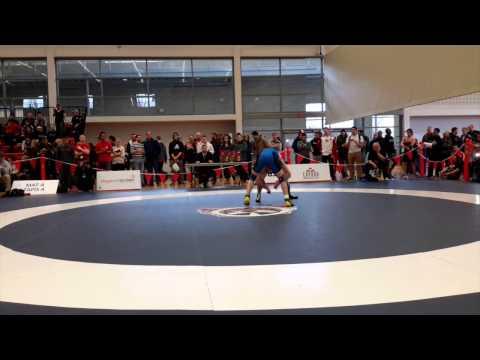 2015 Senior National Championships: 57 kg Gaston Tardiff vs. Tim Clement