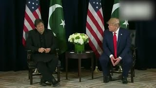 Watch Trump's reaction as Imran Khan talks about India, Afghanistan, Iran