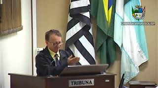 21ª Sessão Ordinária - Vereador Vanderlei Pinatto