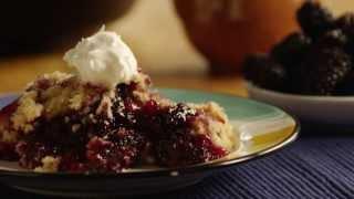 Blackberry Cobbler Recipe - How To Make Blackberry Cobbler