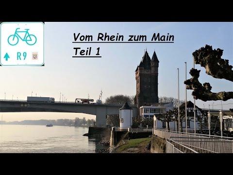 R9 Radweg Vom Rhein  zum Main Teil 1