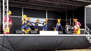 Indian Independence Day 2013 Bhangra 1