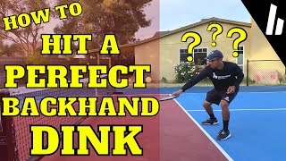 The Backhand Dink-THE PICKLEBALL COACH