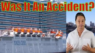 Woman fell or was pushed off cruise ship