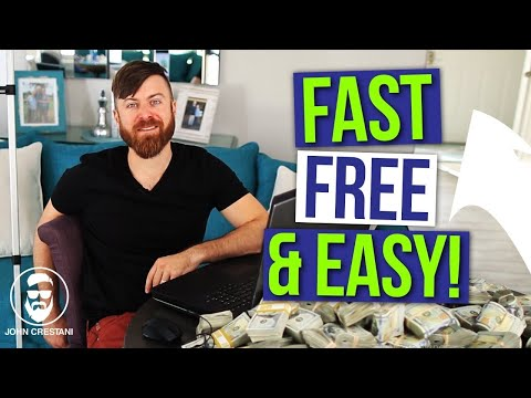 How To Make Money Online Fast, For Free, And Easy