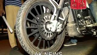 AK NEWS|RACING CARS AND BIKES SEIZED BY TRAFFIC POLICE HYDERABAD AT JUBILEE HILLS