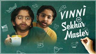 Vinni's routine + Sekhar master with a twist | Sekhar Studio