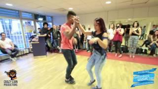 Junior & Carolina - Dominican Bachata demo @Gothenburg Sensual Days thumbnail