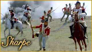 French Cavalry Easily Slaughter Foot Soldiers | Sharpe