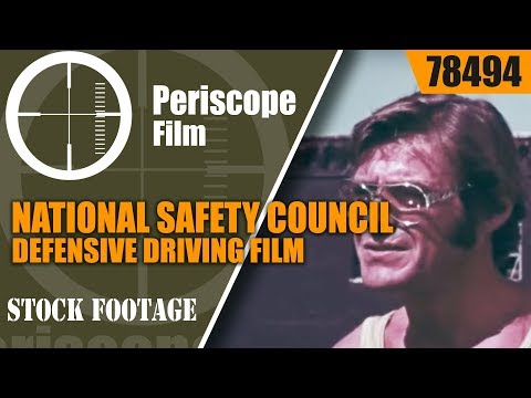 """national-safety-council-defensive-driving-film-""""who's-to-blame""""-78494"""