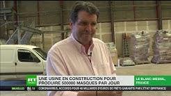 Une usine à masques en construction au Blanc-Mesnil