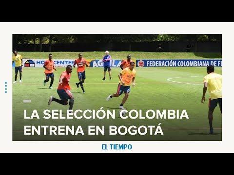 20 jugadores de la Selección entrenan en Bogotá | EL TIEMPO | CEET