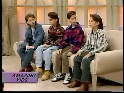 The Moffatts Sally Jesse Raphael 1995 Part 1of 2