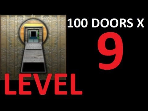100 doors x level 9 door 9 walkthrough solution youtube