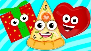 shapes song | learn shapes | nursery rhymes | kids songs | baby videos
