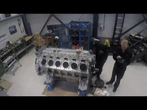 MTU Major overhaul time-lapst week 1